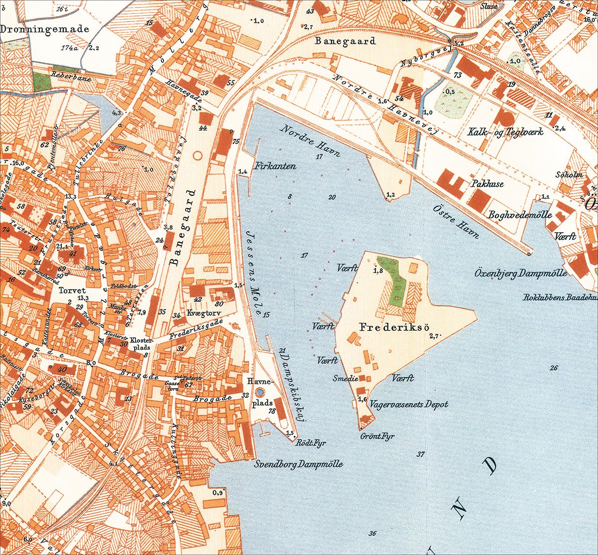 Havnekort-1905